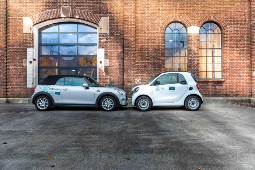 Drivenow Og Car2go Bliver Til Share Now Arriva